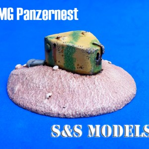 Panzernest MG bunker (with base)