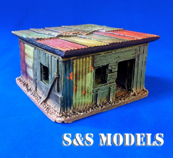 Shanty shacks (pack of 5)