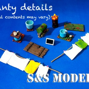 Shanty detail pack