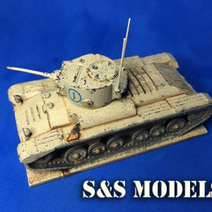 1/72 Valentine mk3 conversion (single)