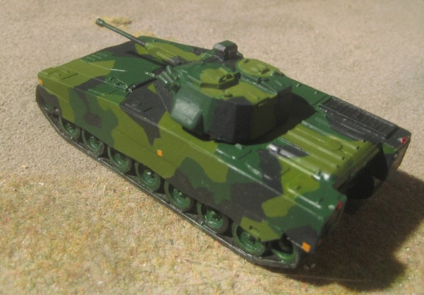 Norwegian/Swedish CV90 apc