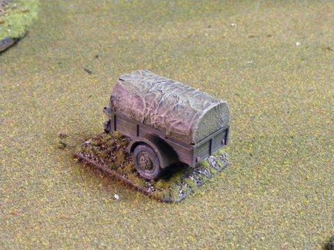 Ben Hur trailer type 1 ton trailer