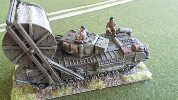 1/72 PSC Churchill AVRE & bobbin conversion kit offer
