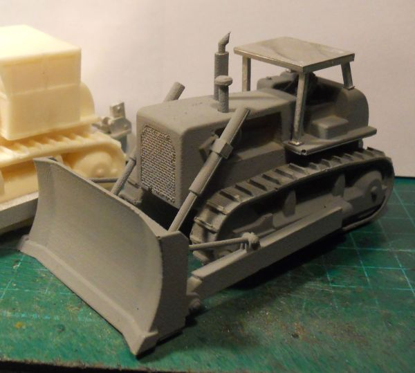 D8 style bulldozer (rops cab) & rear ripper blade