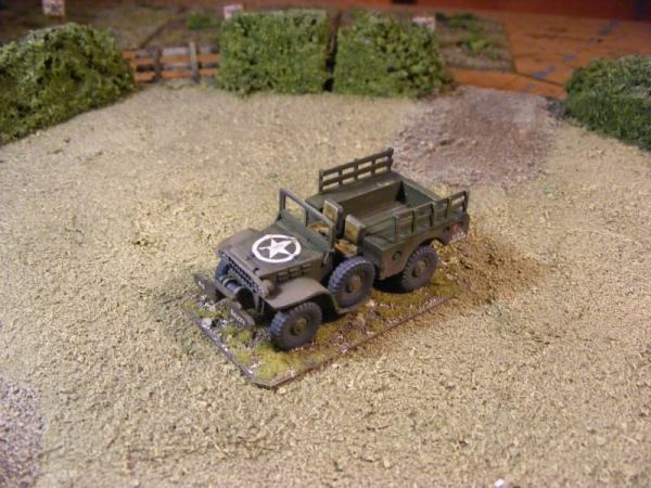 dodge weapons carrier 4x4