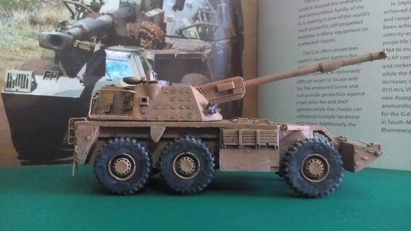 South African G6 Rhino 155mm sp gun