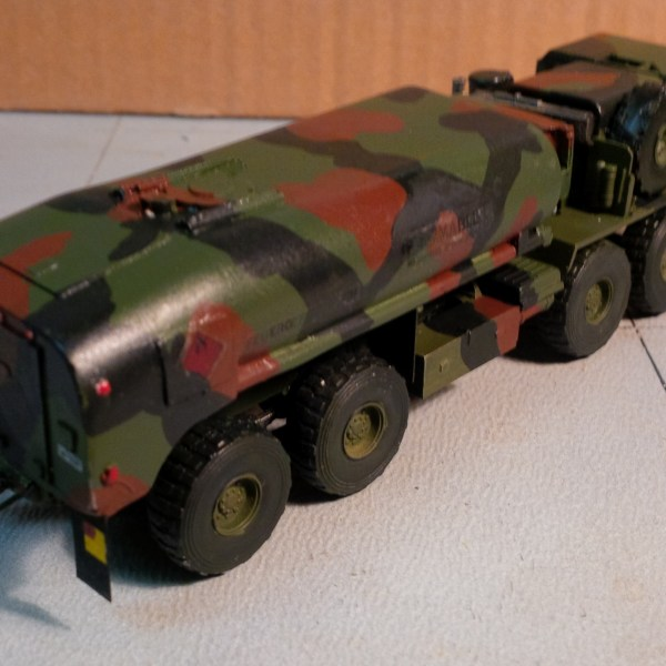 Academy M977 kit & fuel tanker body conversion kit offer