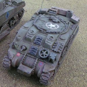 1/56th Sherman arv mk1 conversion kit