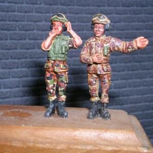 Cold war US tank crew