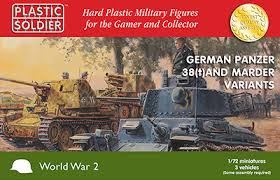 1/72 Plastic Soldier Co Marder & 38 kit