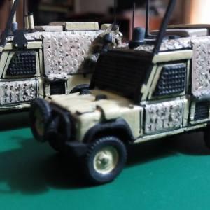 Snatch Land Rover