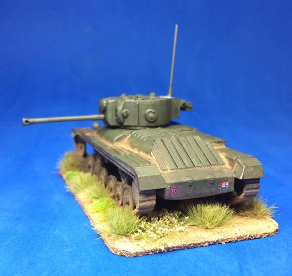 1/72 Valentine mk X1 conversion (single)