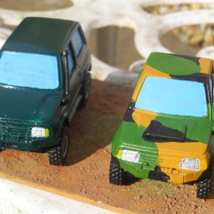 1/43rd Scale Off Roaders
