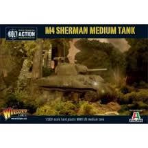 1/56th Italeri/Warlord M4 Sherman & arv conversion kit