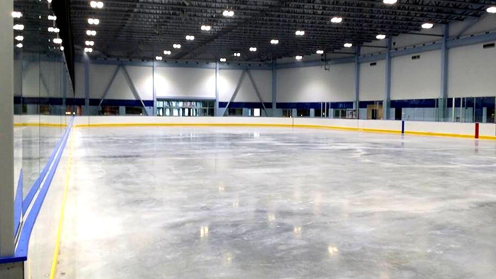 Keene Ice Arena rink