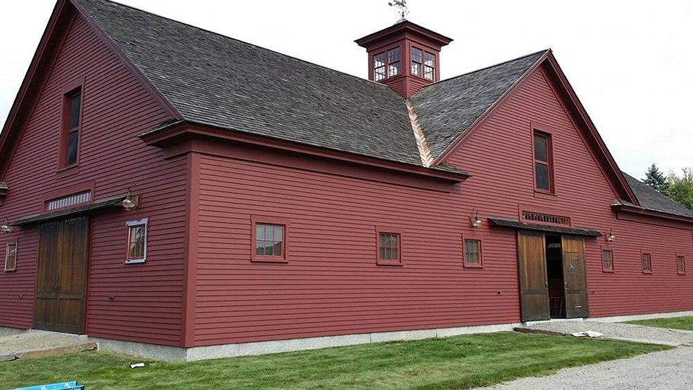 Meriden NH Horse Barn