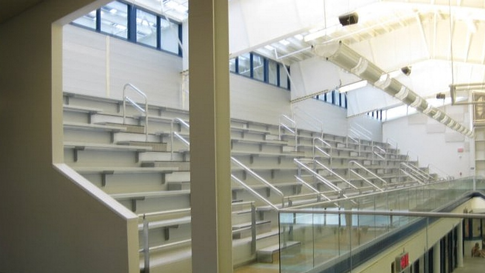 Upper Valley Aquatic Center Bleachers