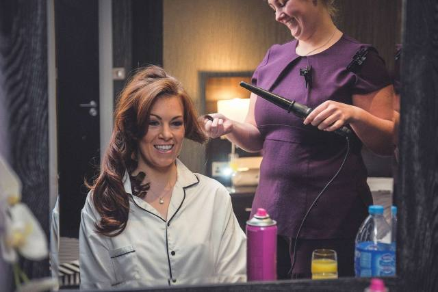 Liverpool Wedding Photography - Bride getting ready at 30 James Street