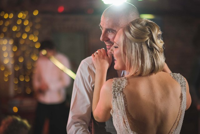 Wedding photography Cheshire - first dance