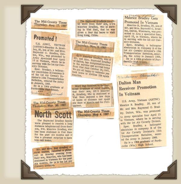Newspaper Articles.