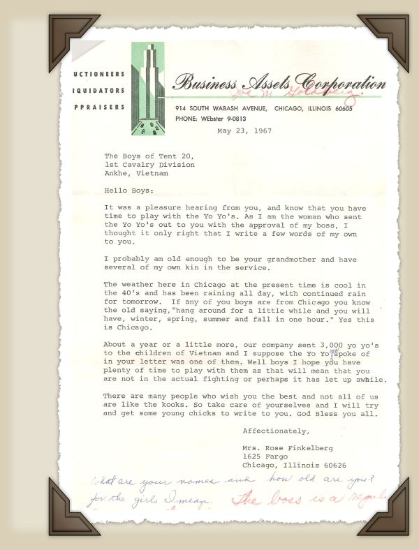 YoYo Letter.