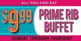 Prime Rib Buffet Reno