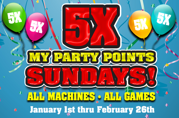 5x My Party Points - Best Casinos in Reno NV