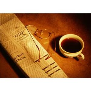 Newspaper-Coffee