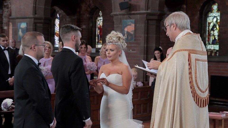 Getting married at Saint Faith's Church in Crosby, Liverpool
