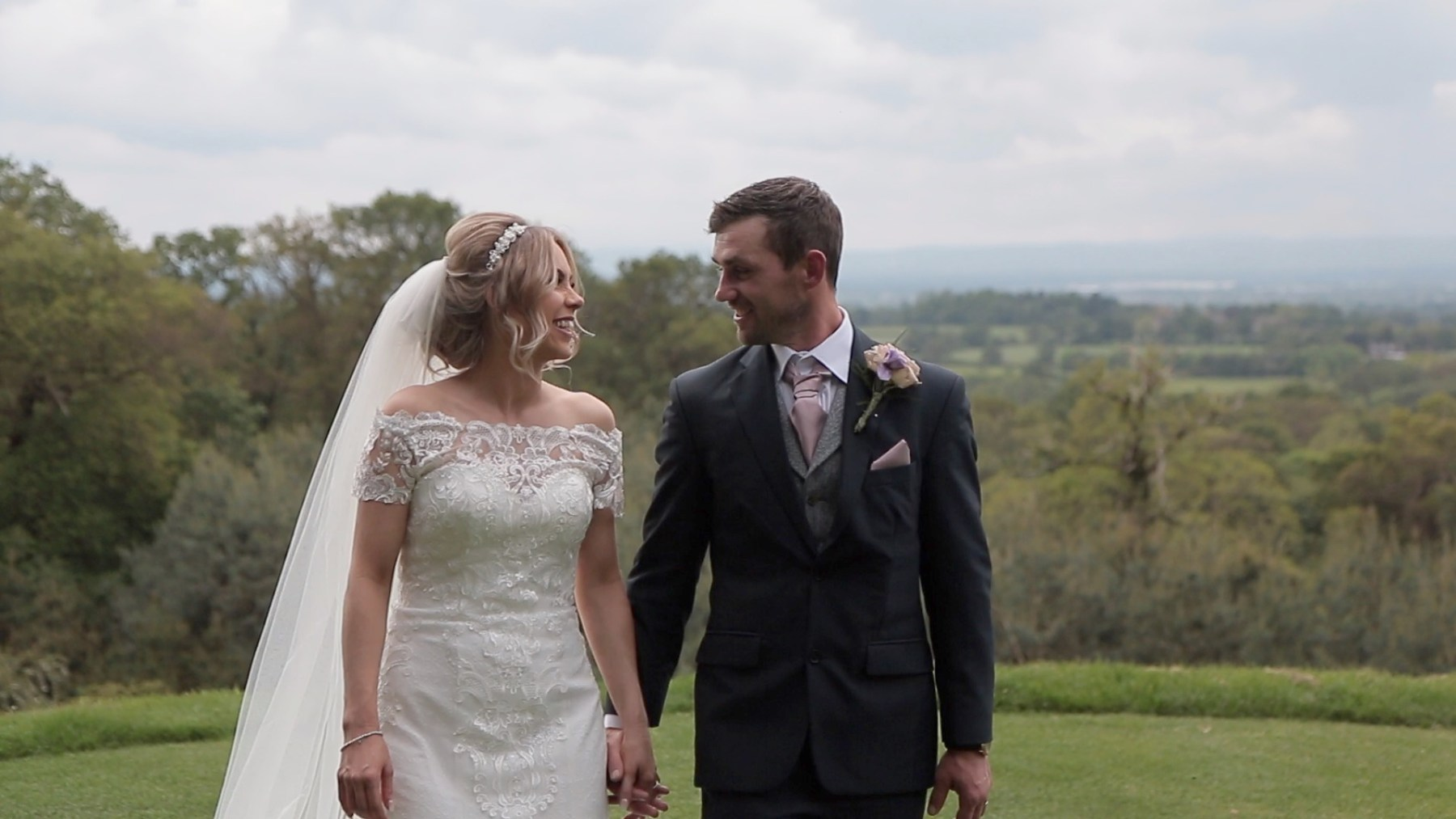 Wedding Video at Carden Park in Cheshire