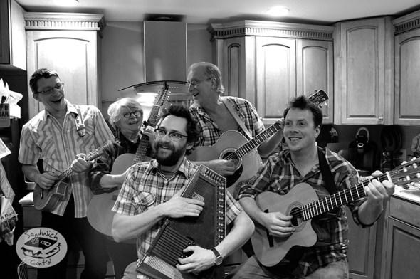 the Lippincottonian Family Band.