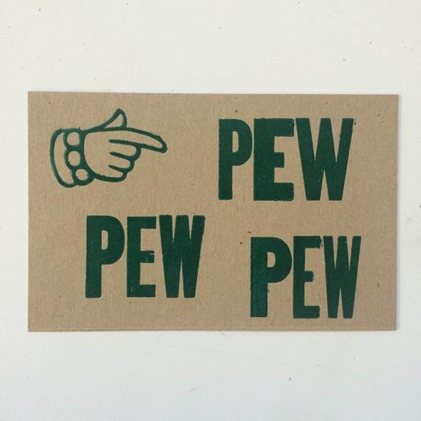 Pew Card