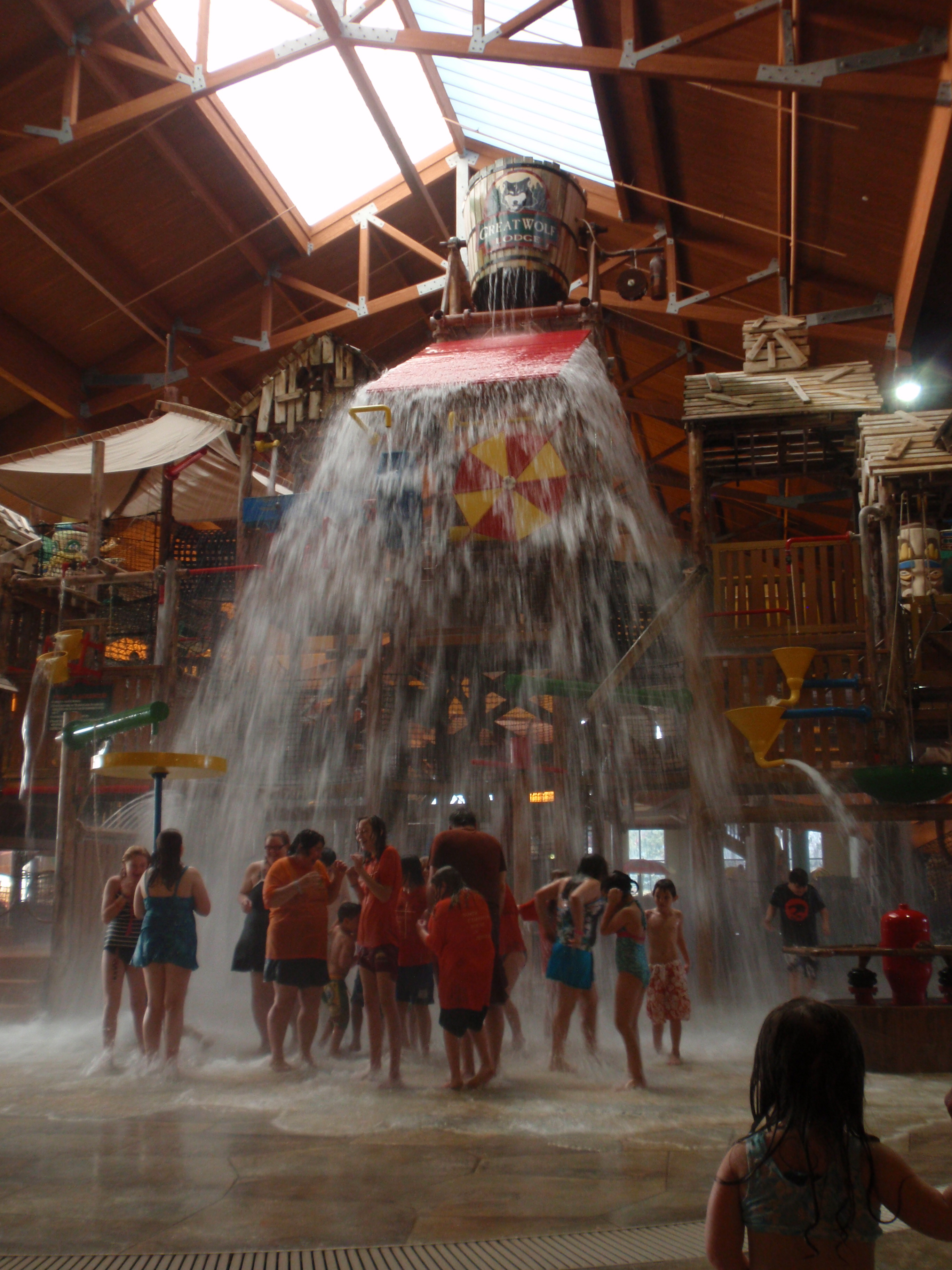 Great Wolf Lodge photos  Sandwiched