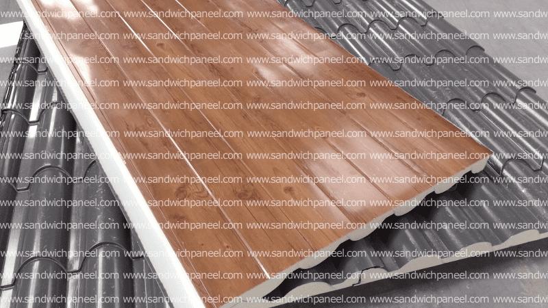paneel grau dachziegel sandwich paneel. Black Bedroom Furniture Sets. Home Design Ideas