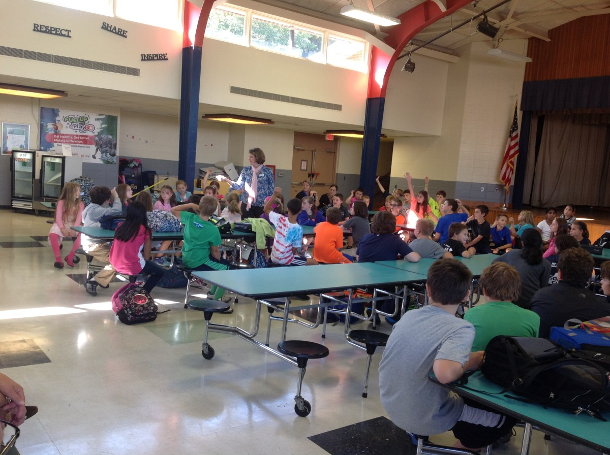 Wing Fifth Graders Create School iRules  Sandwich Learns Together