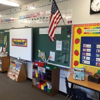 Eager Teachers have Created Beautiful Classrooms at Forestdale!