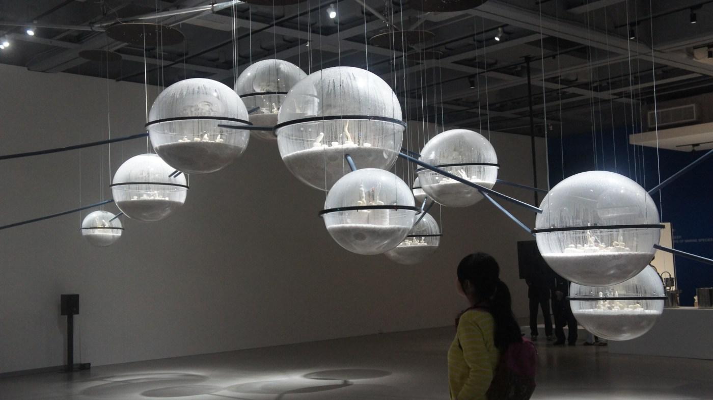 實地走訪【北美館】2018臺北雙年展 《後自然:美術館作為一個生態系統》 – Sandy自學園地