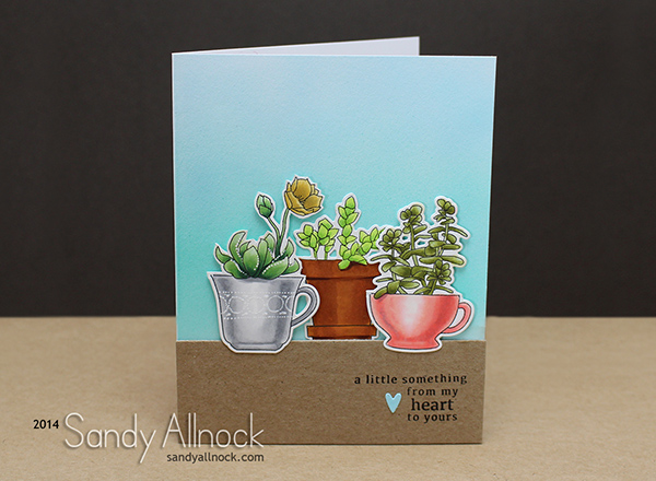 Sandy Allnock Succulents Copic