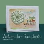 Succulent Stamps