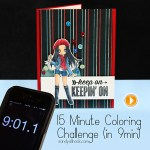 15-Minute Coloring Challenge!