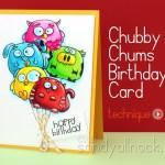 Chubby Chums Birthday Cards