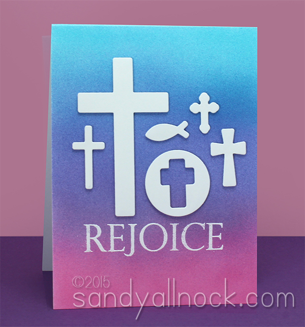 Sandy Allnock Die Cut Cross Wall Card3