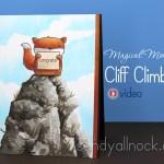 Magical Monday: Cliff climbing!