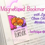 Magnetized Clean Color Pen Bookmarks