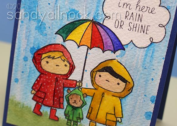 Sandy Allnock - Painting Rain in Watercolor