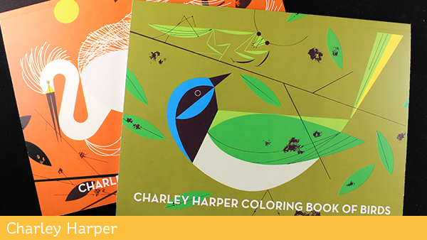 Adult Coloring Books Charley Harper