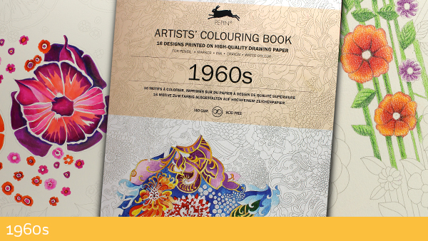 Artist Coloring Books 1960s