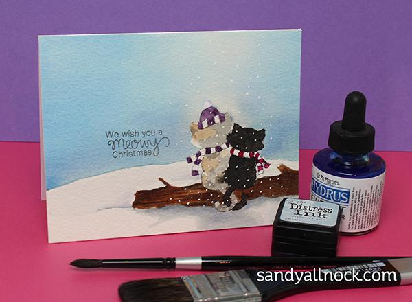 Sandy Allnock Mixing Watercolor Types3