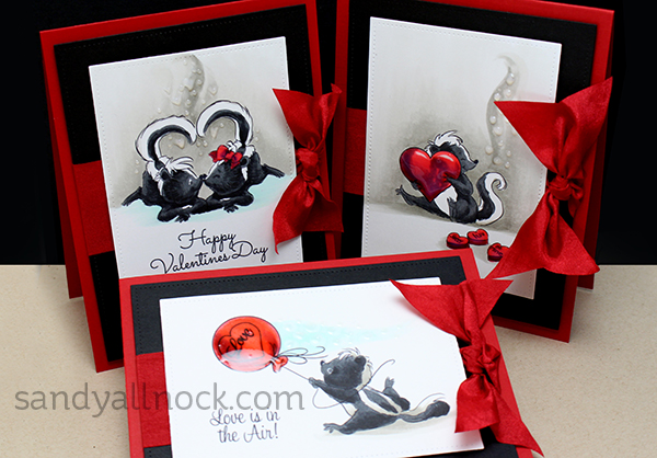 stinking cute three valentines