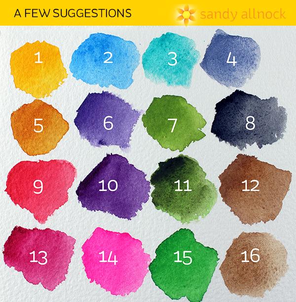 Sandy Allnock color suggestions